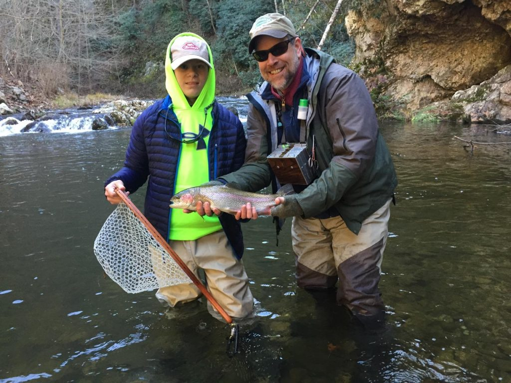 Tennessee Winter Rainbow Trout