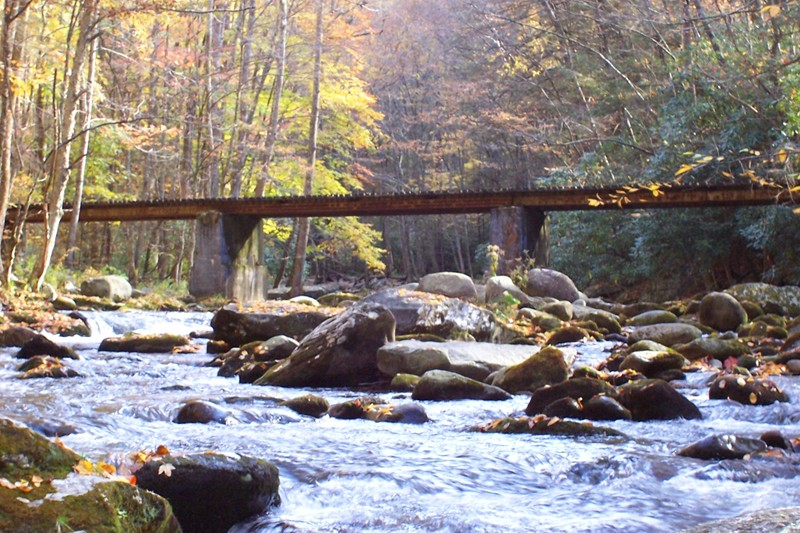 Little River Backcountry GSMNP Tennessee
